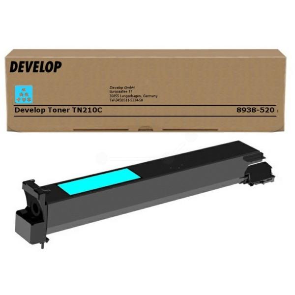 Original Develop 8938520000 / TN-210 C Toner cyan 12.000 Seiten