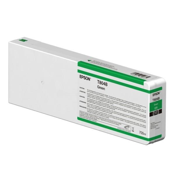 Original Epson C13T804B00 / T804B Tintenpatrone grün 700 ml