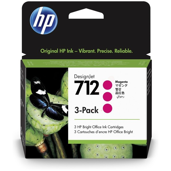 Original HP 3ED78A / 712 Tinte magenta 29 ml