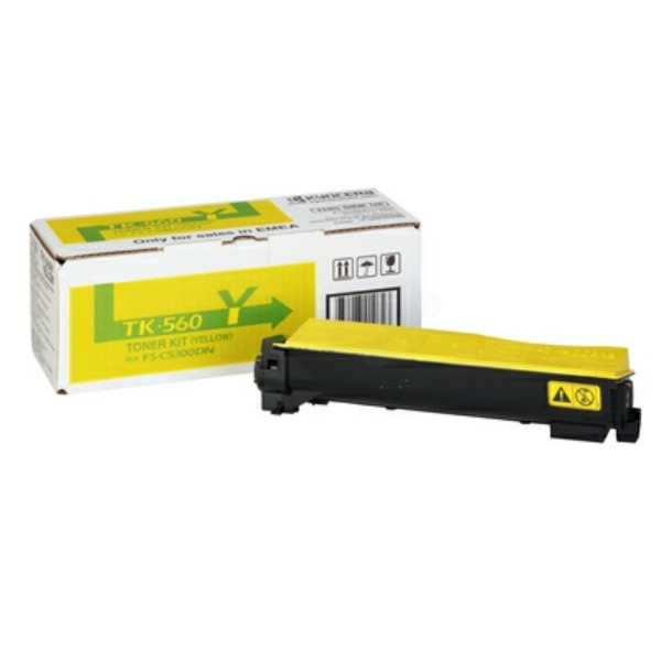 Original Kyocera 1T02HNAEU0 / TK-560 Y Toner gelb 10.000 Seiten