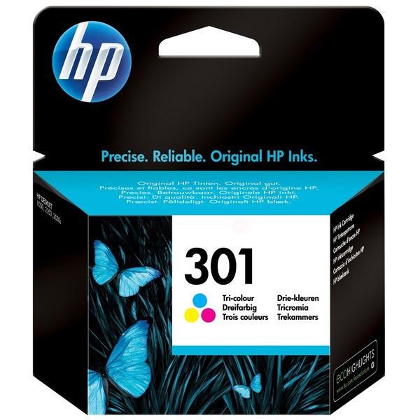 Original HP CH562EE / 301 Druckkopfpatrone color 3 ml 165 Seiten