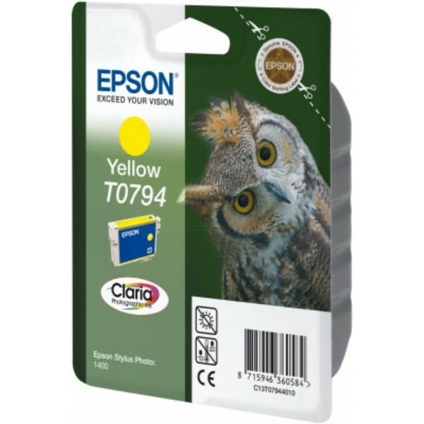 Original Epson C13T07944010 / T0794 Tintenpatrone gelb 11 ml 975 Seiten