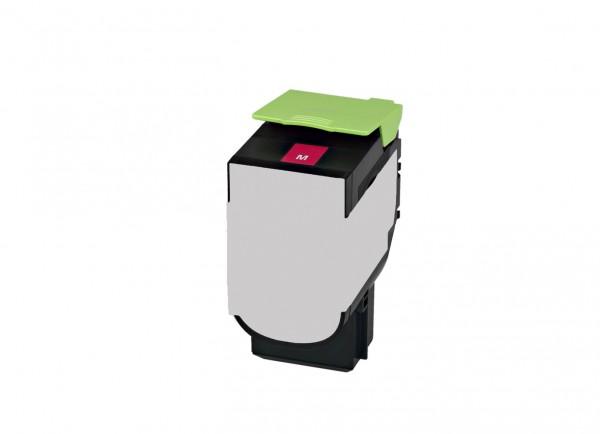 Alternativ Lexmark 80C2XM0 / 802XM Toner magenta 4.000 Seiten