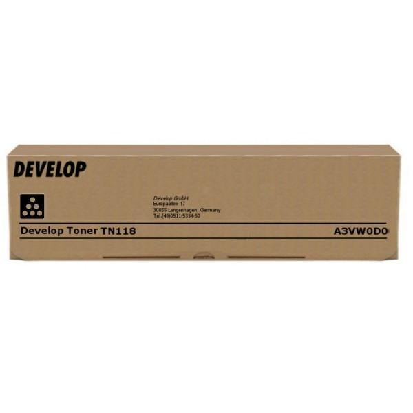 Original Develop A3VW0D0 / TN-118 Toner schwarz 12.000 Seiten