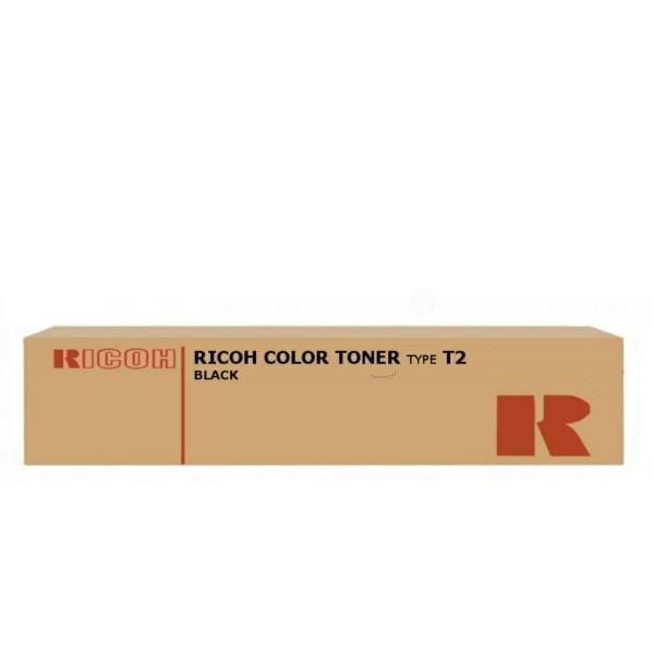 Original Ricoh 888483 / TYPE T 2 Toner schwarz 25.000 Seiten