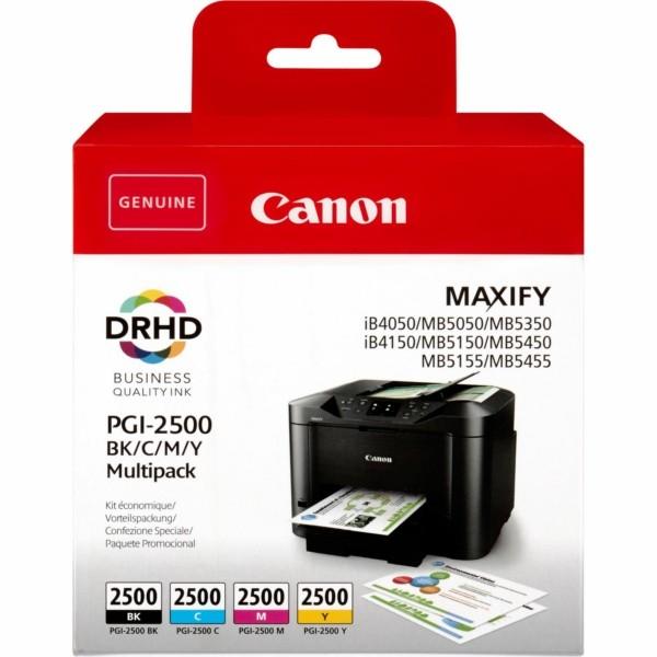 Original Canon 9290B004 / PGI-2500 BKCMY Tintenpatrone MultiPack Bk,C,M,Y 29,1ml + 3 x 9,6ml