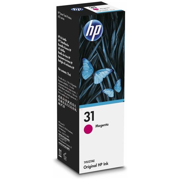 Original HP 1VU27AE / 31 Tintenpatrone magenta 70 ml 8.000 Seiten