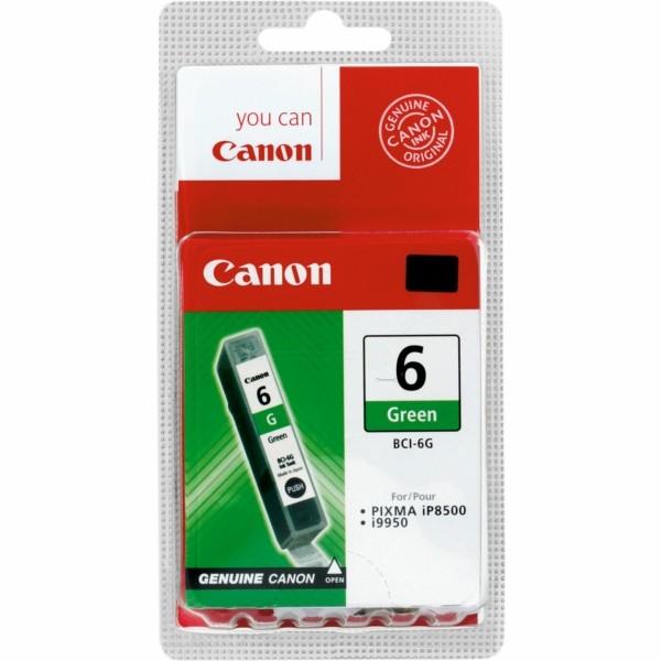 Original Canon 9473A002 / BCI-6 G Tintenpatrone grün 13 ml 390 Seiten