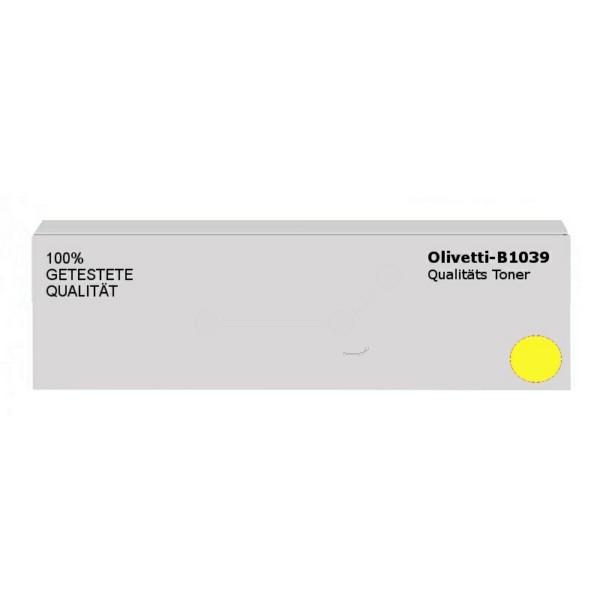 Original Olivetti B1039 Toner gelb 25.000 Seiten