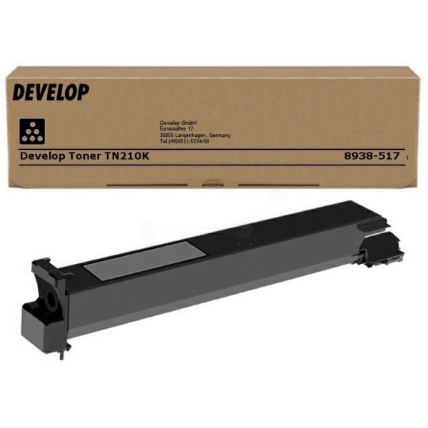Original Develop 8938517000 / TN-210 K Toner schwarz 20.000 Seiten