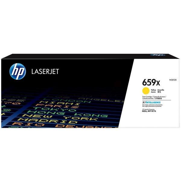 Original HP W2012X / 659X Toner-Kit gelb 29.000 Seiten
