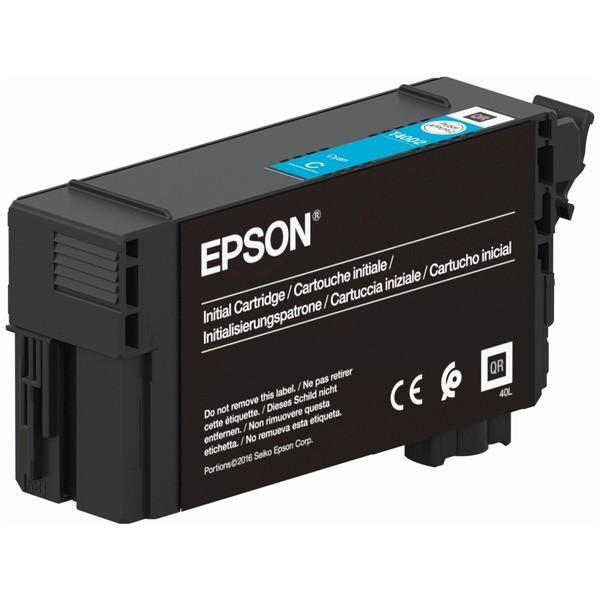 Original Epson C13T40C240 / T40 Tintenpatrone cyan 26 ml