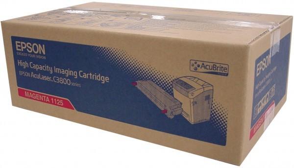 Original Epson c13S051125 / S051125 Toner magenta 9.000 Seiten