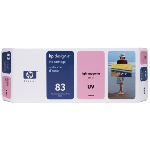 Original HP C4945A / 83 Tintenpatrone magenta hell ,UV-Tinte 680 ml