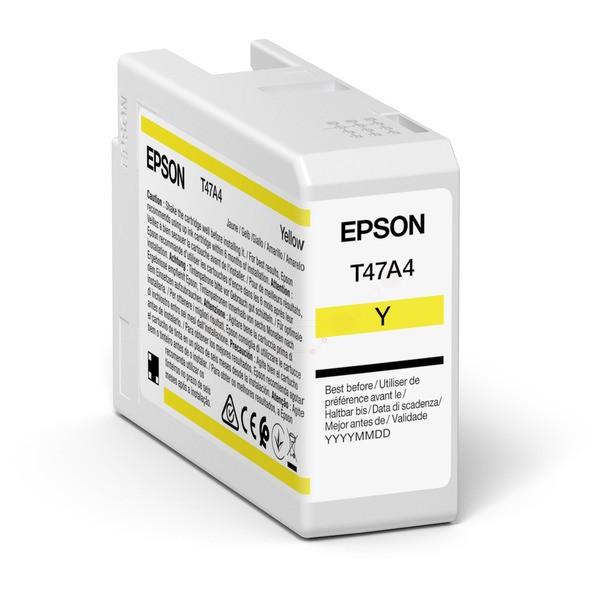 Original Epson C13T47A400 / T47A4 Tintenpatrone gelb 50 ml