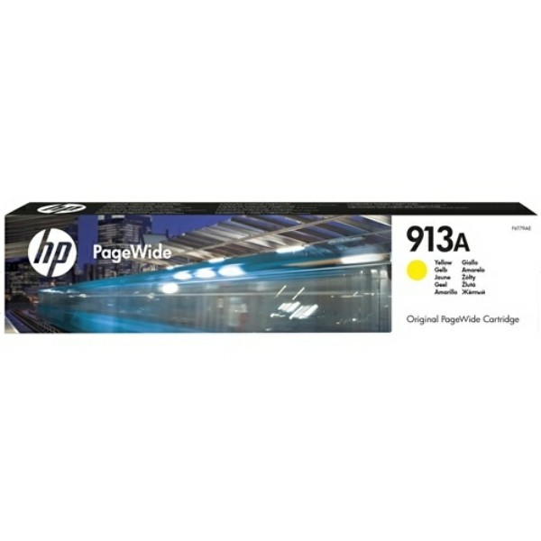 Original HP F6T79AE / 913A Tintenpatrone gelb 37,5 ml 3.000 Seiten