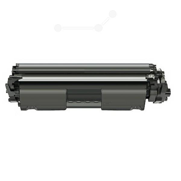 Original HP CF217A / 17A Tonerkartusche schwarz 1.600 Seiten