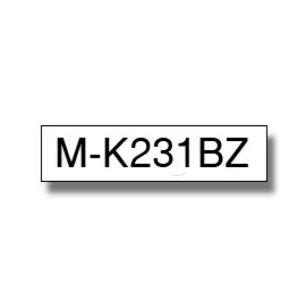 Original Brother MK231BZ DirectLabel schwarz auf weiss