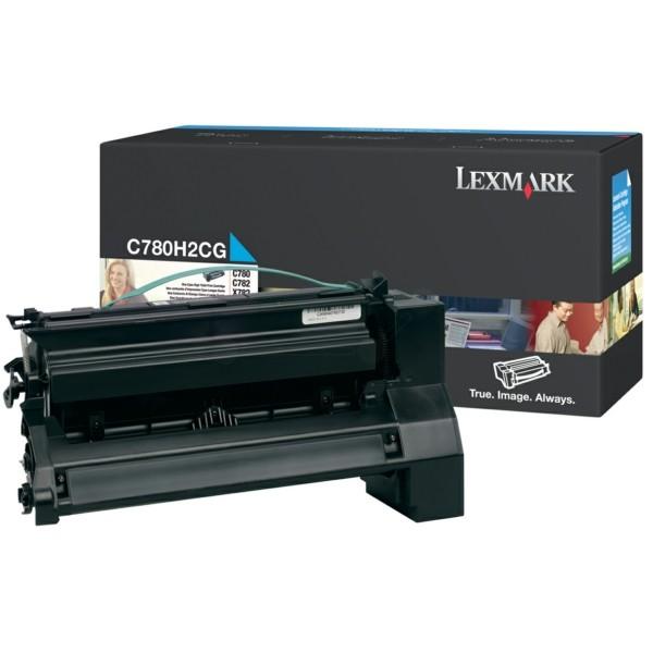 Original Lexmark C780H2CG Tonerkartusche cyan 10.000 Seiten