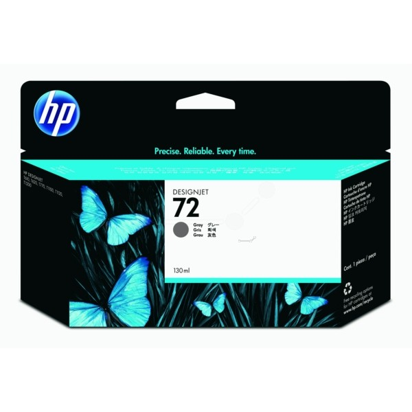 Original HP C9374A / 72 Tintenpatrone grau 130 ml