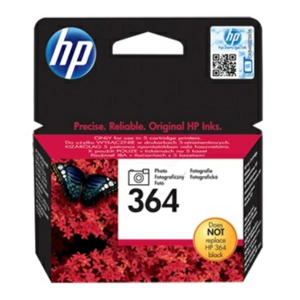 Original HP CB317EE / 364 Tintenpatrone schwarz Foto 3 ml 130 Seiten