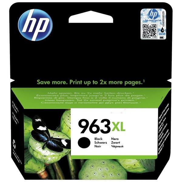 Original HP 3JA30AE / 963XL Tintenpatrone schwarz 47,86 ml 2.000 Seiten
