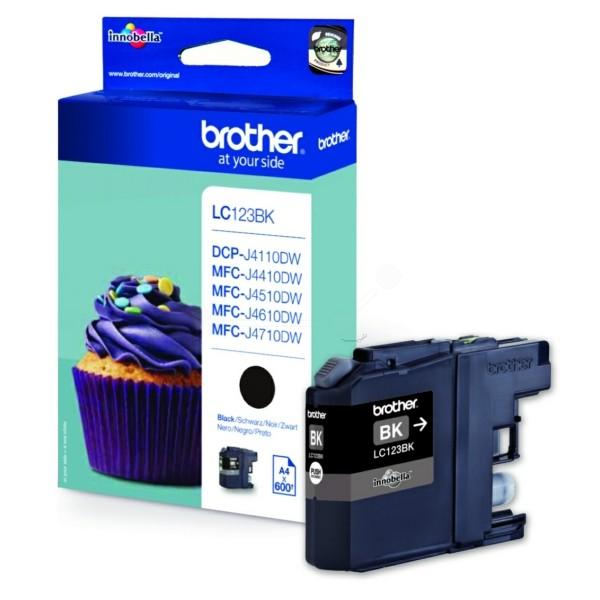 Original Brother LC123BK Tintenpatrone schwarz 11 ml 600 Seiten
