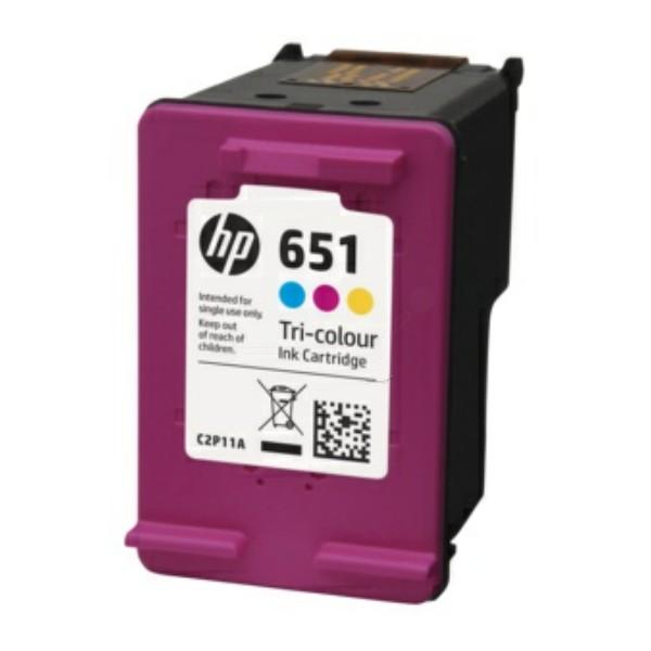 Original HP C2P11AE / 651 Druckkopfpatrone color 300 Seiten