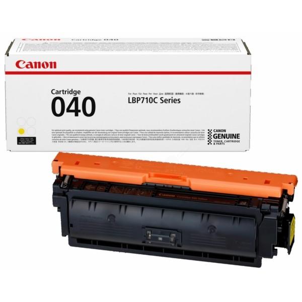 Original Canon 0454C001 / 040 Y Tonerkartusche gelb 5.400 Seiten