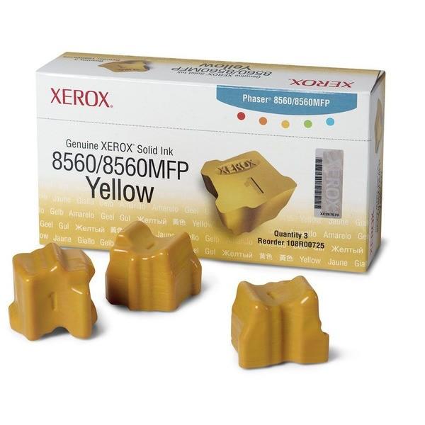 Original Xerox 108R00725 Festtinte in Color-Stix gelb 3.400 Seiten