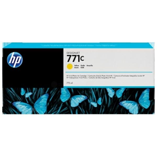 Original HP B6Y10A / 771C Tintenpatrone gelb 775 ml