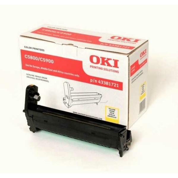 Original OKI 43381721 Drum Kit gelb 20.000 Seiten