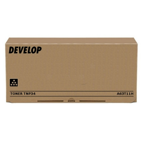 Original Develop A63T11H / TNP-34 Toner-Kit schwarz return program 20.000 Seiten