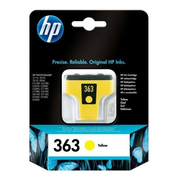 Original HP C8773EE / 363 Tintenpatrone gelb 6 ml 500 Seiten