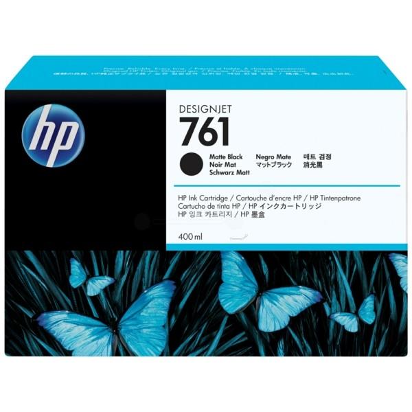 Original HP CM991A / 761 Tintenpatrone schwarz matt 400 ml