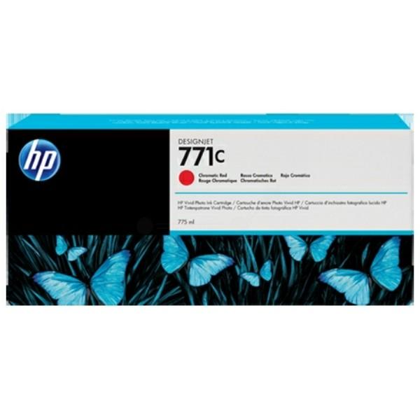 Original HP B6Y08A / 771C Tintenpatrone rot 775 ml