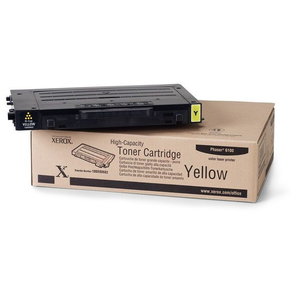 Original Xerox 106R00682 Toner gelb 5.000 Seiten