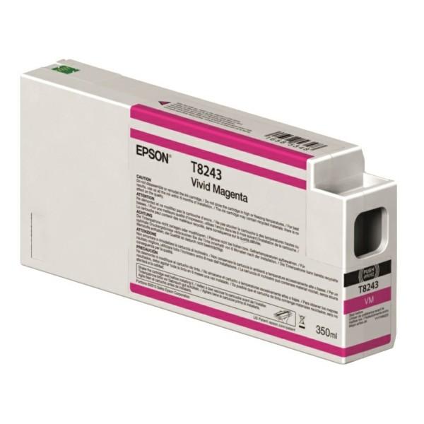 Original Epson C13T824300 / T8243 Tintenpatrone magenta 350 ml