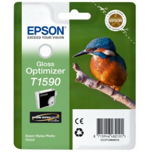 Original Epson C13T15904010 / T1590 Tintenpatrone Glanzverstärker 17 ml