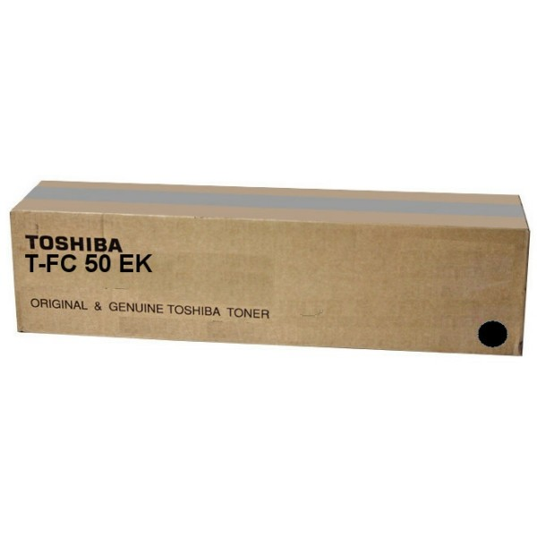 Original Toshiba 6AJ00000114 / T-FC 50 EK Toner schwarz 38.400 Seiten