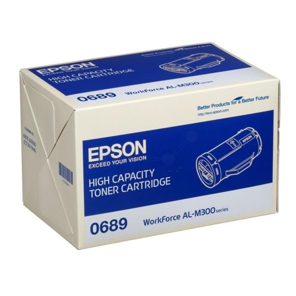 Original Epson C13S050689 / 0689 Toner-Kit schwarz 10.000 Seiten
