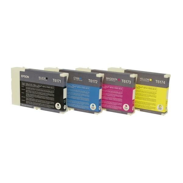 Original Epson C13T617100 / T6171 Tintenpatrone schwarz High-Capacity 100 ml 4.000 Seiten