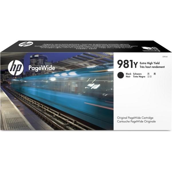 Original HP L0R16A / 981Y Tintenpatrone schwarz 345 ml 20.000 Seiten