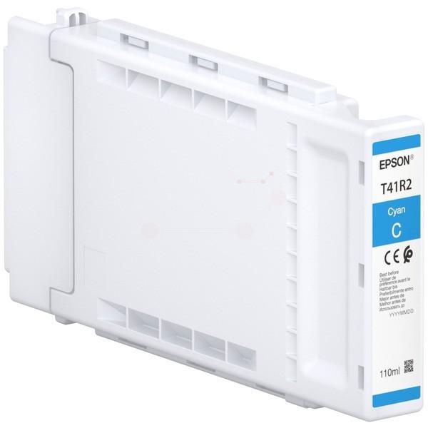 Original Epson C13T41R240 / T41R2 Tintenpatrone cyan 110 ml