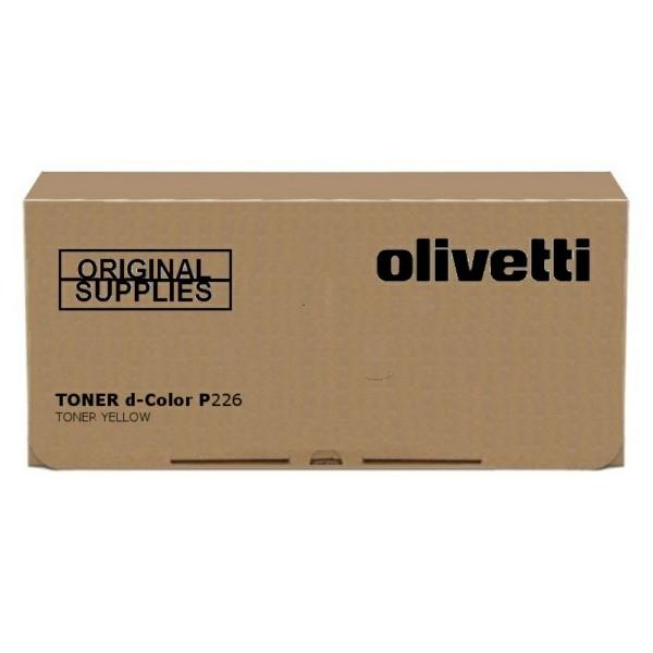 Original Olivetti B0772 Toner gelb 10.000 Seiten