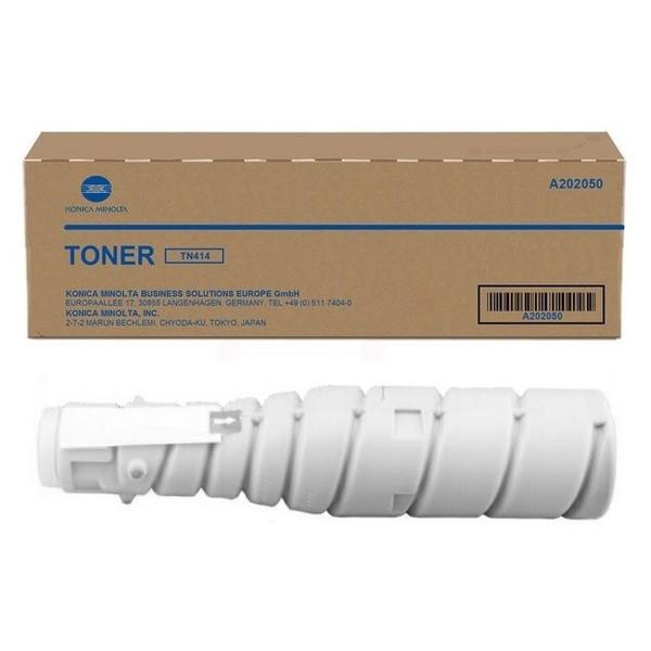 Original Konica Minolta A202050 / TN-414 Toner schwarz 25.000 Seiten