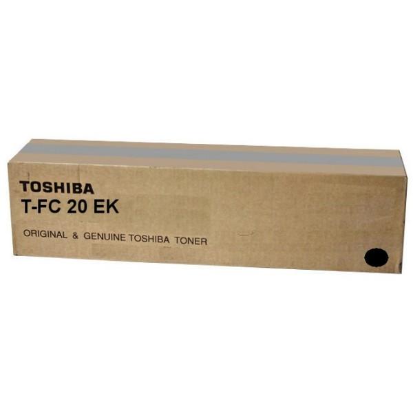 Original Toshiba 6AJ00000066 / T-FC 20 EK Toner schwarz 20.300 Seiten