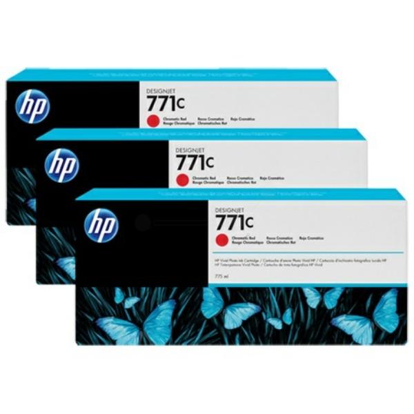 Original HP B6Y32A / 771C Tintenpatrone rot 775 ml