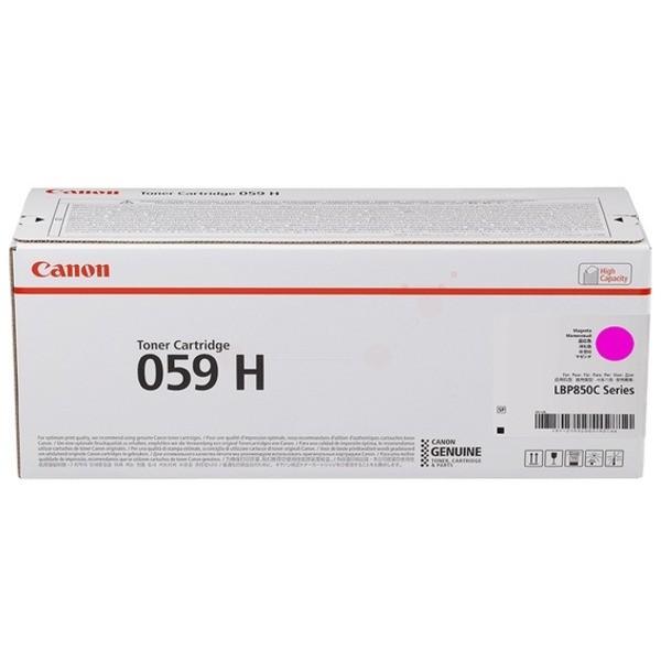 Original Canon 3625C001 / 059 H Toner magenta 13.500 Seiten