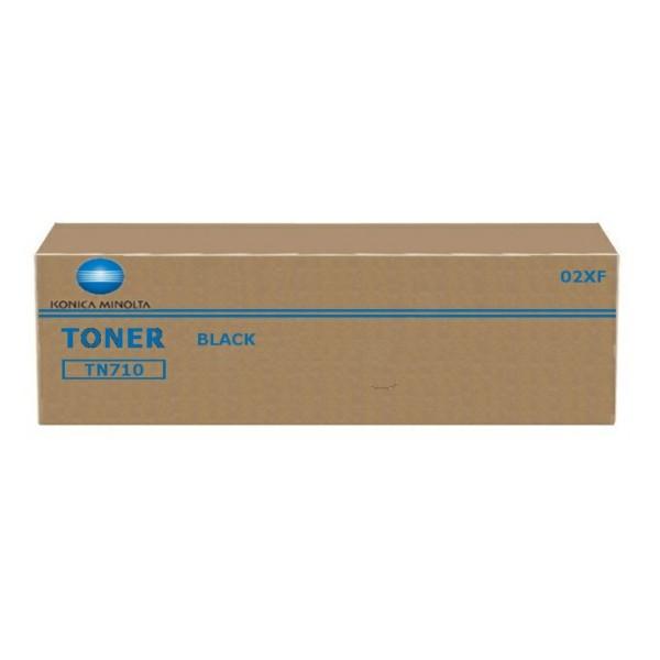 Original Konica Minolta 02XF / TN-710 Toner schwarz 55.000 Seiten